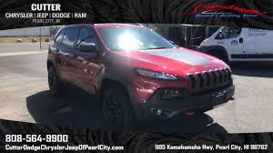 sport jeep cherokee 2017 new 2017 jeep cherokee trailhawk sport utility in pearl city