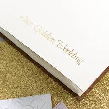 50th wedding anniversary photo album golden wedding anniversary album by begolden notonthehighstreet