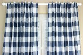 Kitchen Curtains Blue by Blue Plaid Curtains U2013 Teawing Co