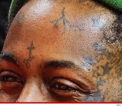 lil wayne u0027s face tattoos too close for comfort tmz com