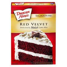 upc 644209412006 duncan hines signature red velvet cake mix
