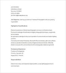 freelance resume template freelance photographer resume sle best resume collection