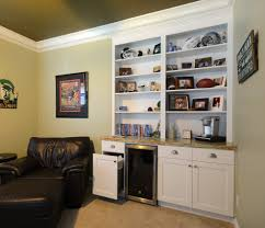 miami thick crown molding home theater traditional with wine