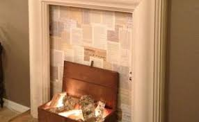 How To Make Fake Fireplace by A Faux Fireplace With Pallet Shelving Hometalk