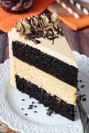 chocolate pumpkin cheesecake cake life love and sugar