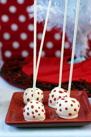 give the gift of food red velvet cake pops adventures in the