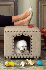 How To Build A End Table Dog Crate by 15 Creative Ottoman Ideas Ottoman Ideas Pet Beds And Ottomans