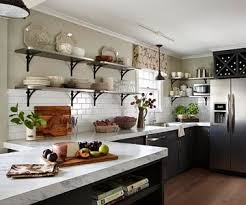 Open Shelves Kitchen Best 25 Stainless Steel Kitchen Shelves Ideas On Pinterest