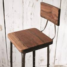 industrial metal bar stools with backs endearing industrial style bar stool industrial metal bar stool with