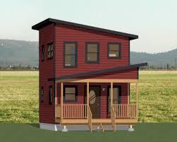 Tiny Houses Floor Plans 16x16 Tiny House 16x16h2 433 Sq Ft Excellent Floor Plans