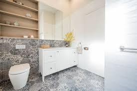 stickybeak of the week a sophisticated bathroom with storage to spare