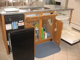 home organization wooden kitchen cabinet with under cabinet