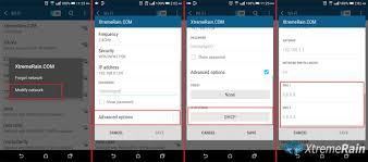 settings for android how to change dns settings in android devices xtremerain