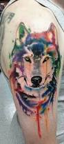 100 most beautiful watercolor tattoo ideas watercolor wolf