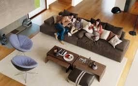 table pour canapé meuble de salon moderne 35 idées canapé et fauteuils design