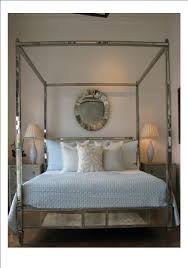 regency mirrored canopy bed the mirrored bed company antique