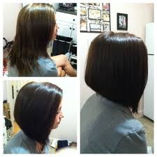 inverted long bob such a clean and professional transformation