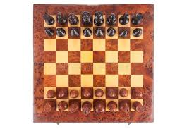 how to set up chess table old chess board set up to begin a game stock image image of