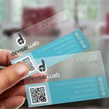 clear buisness cards 200pc 85 5 54mm wholesale personalized customized one side