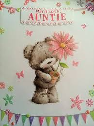 birthday cards for aunts collection on ebay