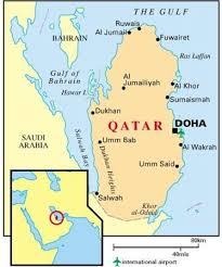doha qatar map qatar map picture of qatar international adventures qia doha