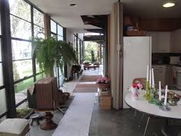 mid century modern tiny house cherles and ray eames house case study house no 8 1949 los