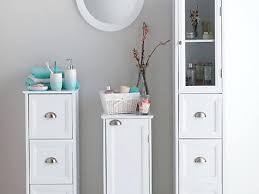Bathroom Storage Ebay Bathroom Cabinet Storage Ebay White Drawers Narrow Size Tower