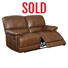 Brown Leather Loveseat Home Furnishings In Dfw Metroplex