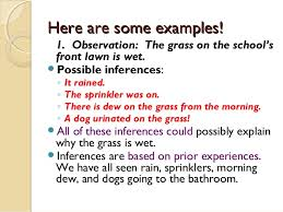 observations vs inferences in science lessons tes teach