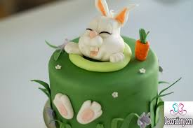 Easter Cake Decorations Cute Easter Bunny Cake Decorating Ideas U2014 Decorationy