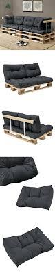 coussin pour canapé palette coussin pour palette où trouver des coussins pour meubles en