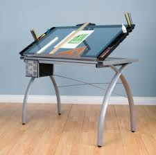 adjustable drafting art table stencil glass drawing tracing desk