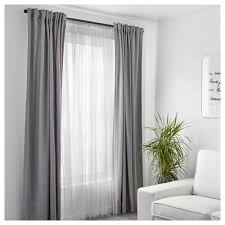 lill lace curtains 1 pair ikea