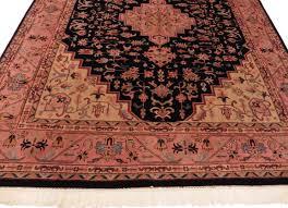 Antique Indian Rugs Vintage Indian 8 X 10 Wool Rug 9055 Exclusive Oriental Rugs