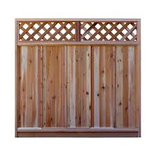 Replacing Wood Paneling by Wood Fencing Fencing The Home Depot