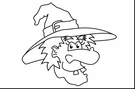 remarkable witch face coloring pages with witch coloring pages