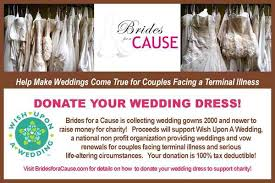 wedding dress donation donate your gown