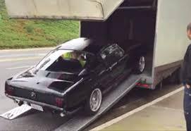 Black Mustang Crash Leaked