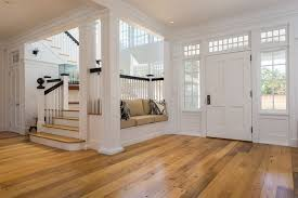 traditional entryway with hardwood floors crown molding in