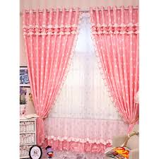 Baby Pink Curtains Pink Curtains 100 Images Modern Plain Linen White Voile