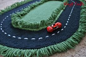 Kids Race Track Rug by Car Area Rug Kids New Area Rugs 4x6 Green Race Car Track Wool