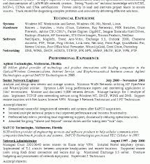 Computer Hardware And Networking Resume Samples 100 Network Engineer Resume Senior Network Administrator Resume