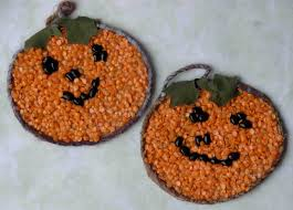 of dawn crafts bean mosaics easy halloween kids craft