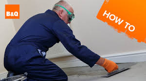 Laminate Flooring At B And Q How To Level A Concrete Floor Part 2 Levelling Youtube