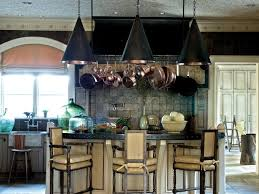 lighted hanging pot racks kitchen kitchen islands with seating pictures u0026 ideas from hgtv hgtv