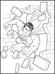 30 superman images coloring pictures kids