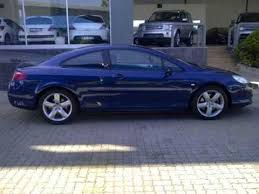 blue peugeot for sale 2006 peugeot 407 peugeot 407 3 0 v6 coupe auto for sale on auto
