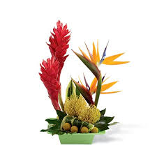tropical flower arrangements tropical arrangement at send flowers