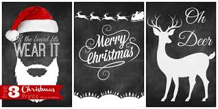funny christmas card templates free three chalkboard christmas prints mine for the making three chalkboard christmas prints