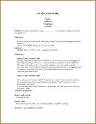 student resume sle resume sle format for students artemushka